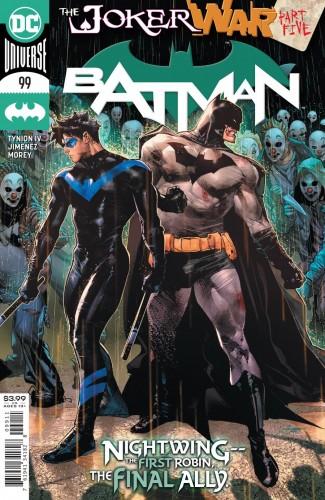 BATMAN #99 (2016 SERIES) JOKER WAR TIE-IN