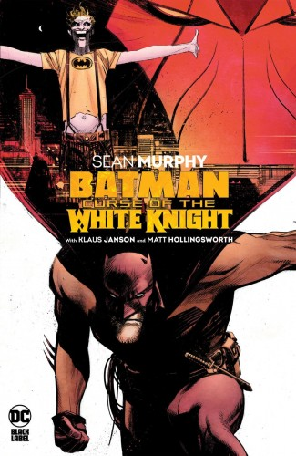 BATMAN CURSE OF THE WHITE KNIGHT HARDCOVER