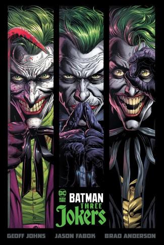 BATMAN THREE JOKERS HARDCOVER