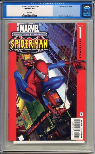 ULTIMATE SPIDER-MAN #1 CGC 9.8 WHITE PAGES