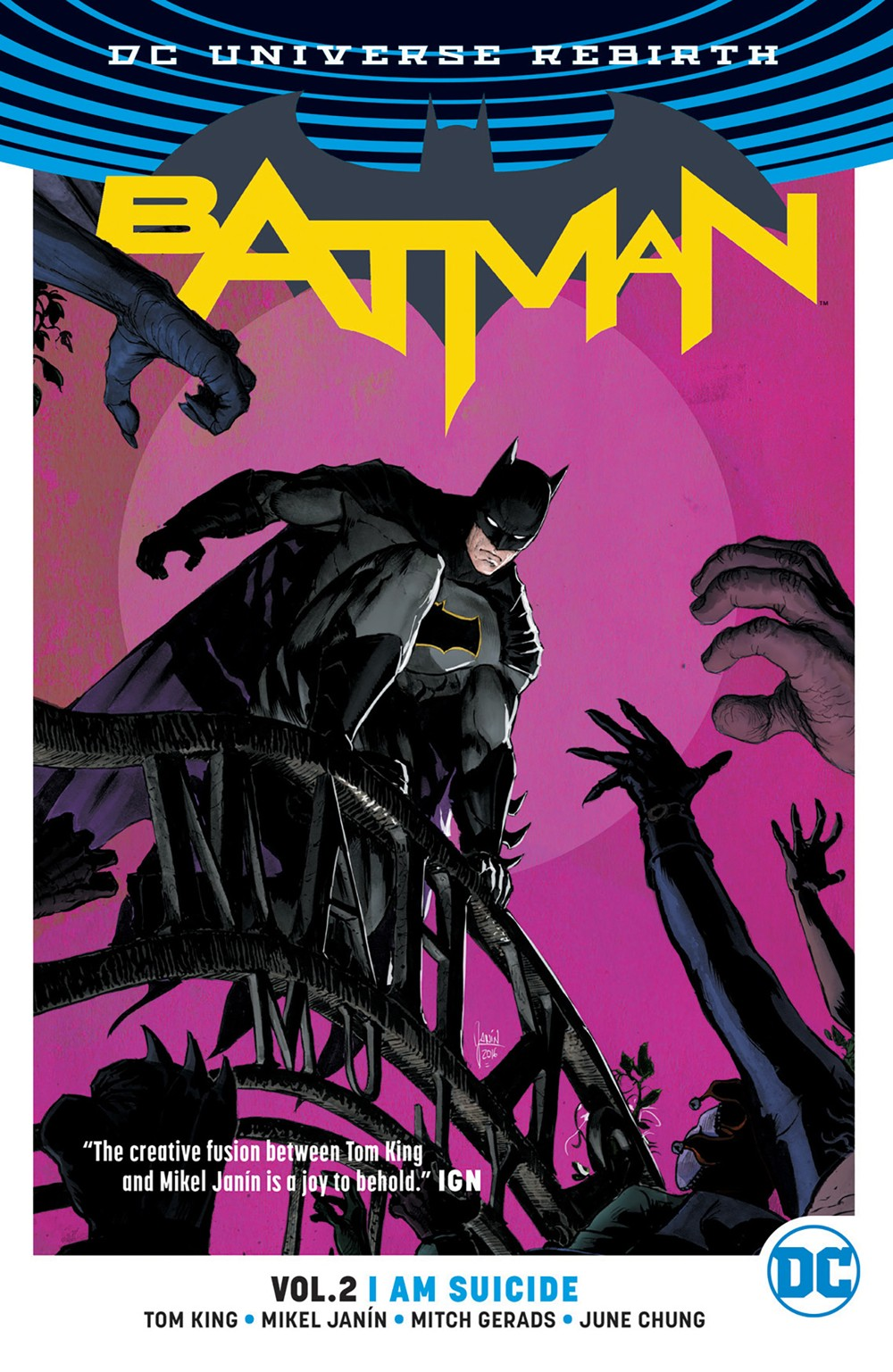 BATMAN VOLUME 2 I AM SUICIDE GRAPHIC NOVEL