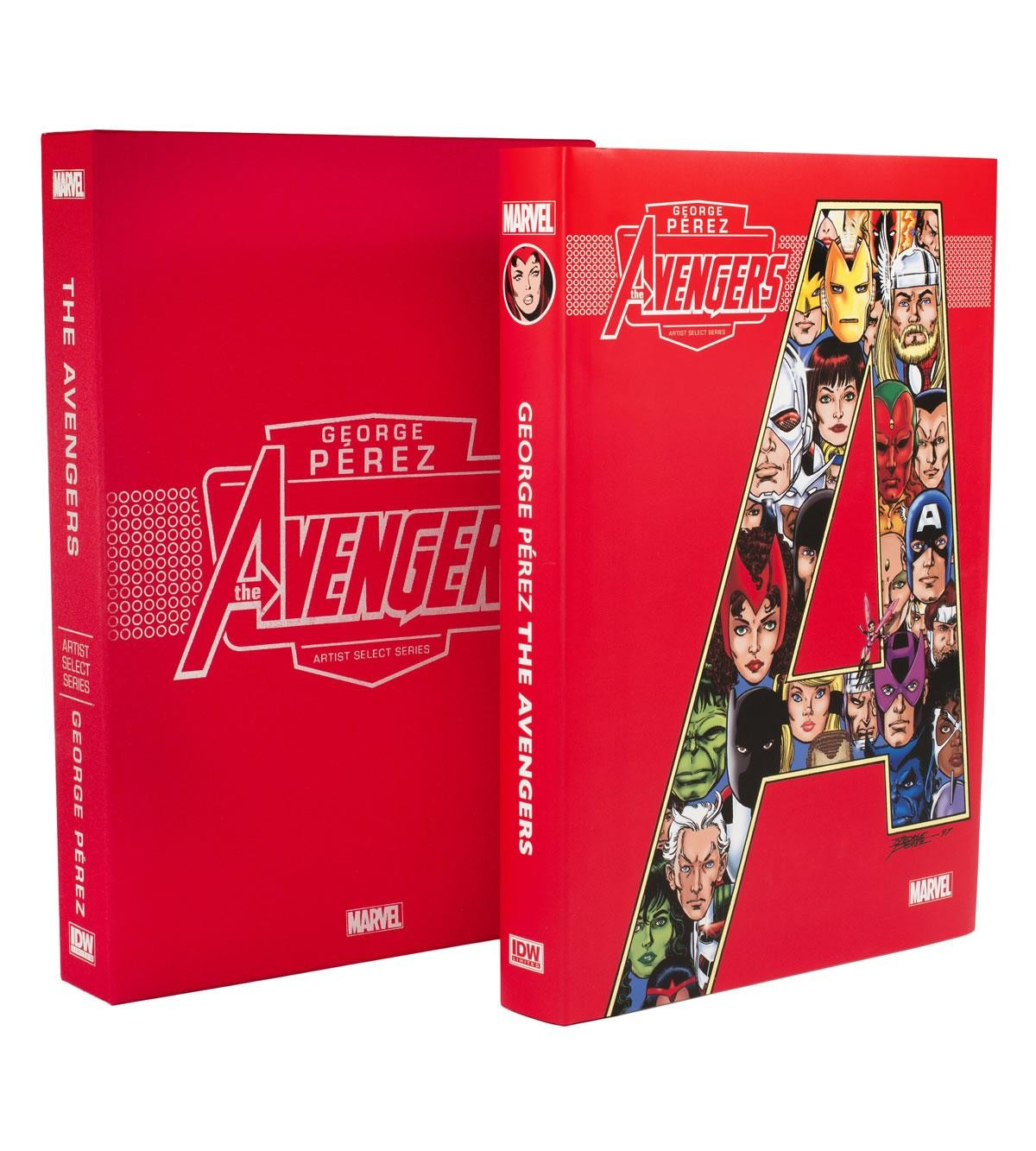 2016 Marvel George Perez The AVENGERS Artist Select Series Hardcover Brand New