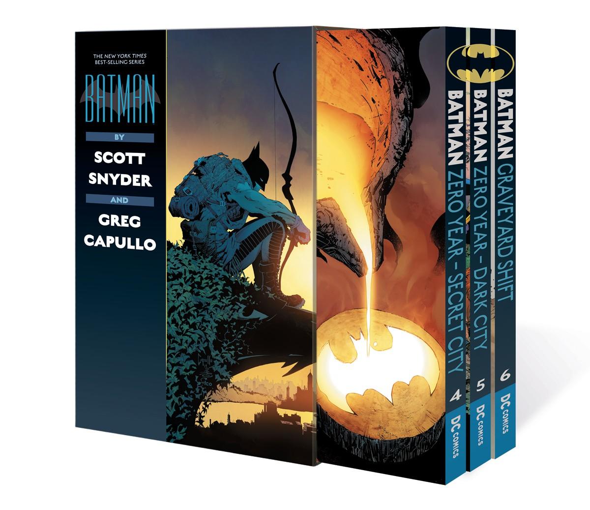 BATMAN BY SCOTT SNYDER AND GREG CAPULLO GRAPHIC NOVEL BOX SET 2