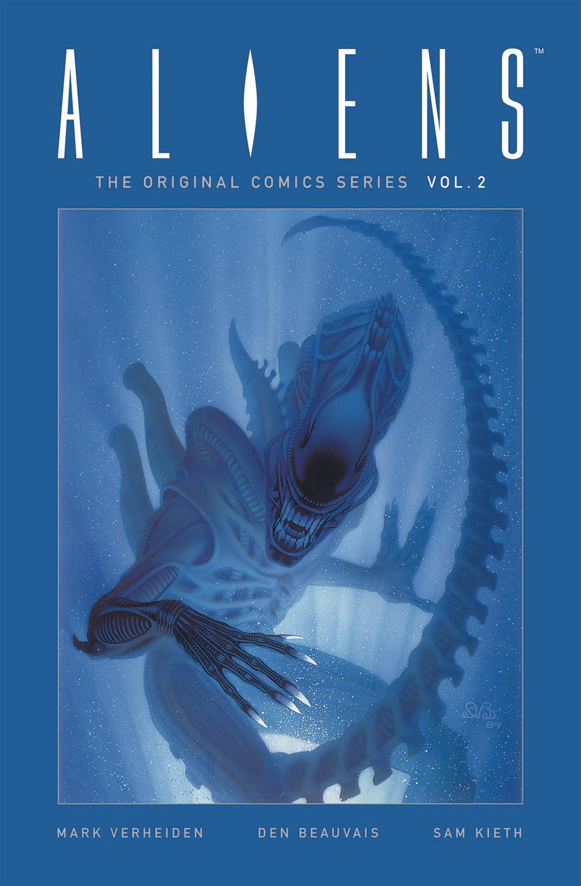 ALIENS ORIGINAL COMICS SERIES VOLUME 2 HARDCOVER