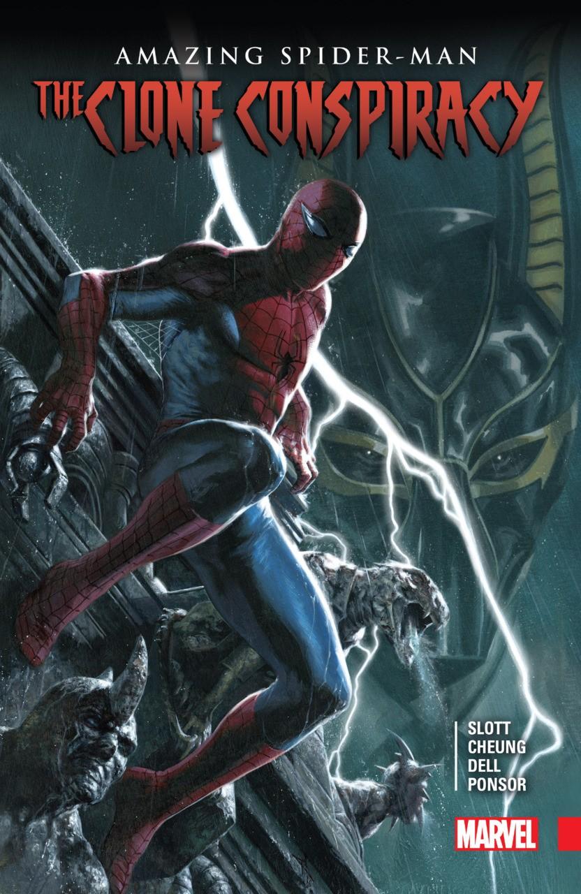 AMAZING SPIDER-MAN CLONE CONSPIRACY HARDCOVER