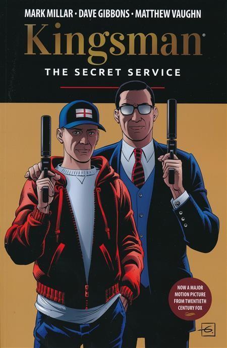KINGSMAN SECRET SERVICE GRAPHIC NOVEL GIBBONS COVER