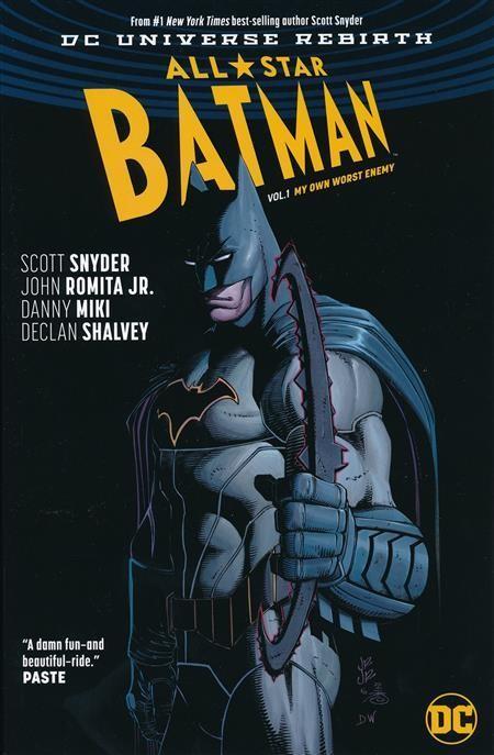 ALL STAR BATMAN VOLUME 1 MY OWN WORST ENEMY GRAPHIC NOVEL