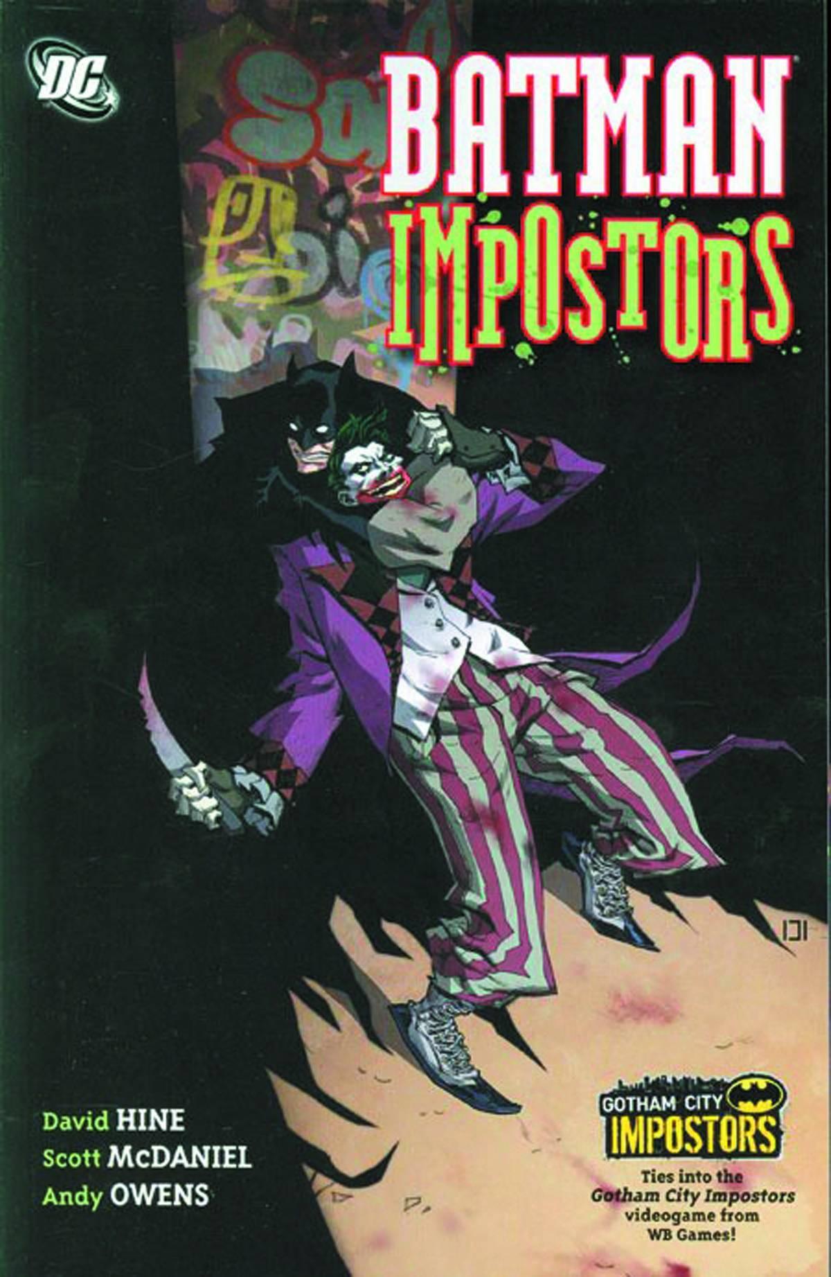 Batman Impostors Graphic Novel