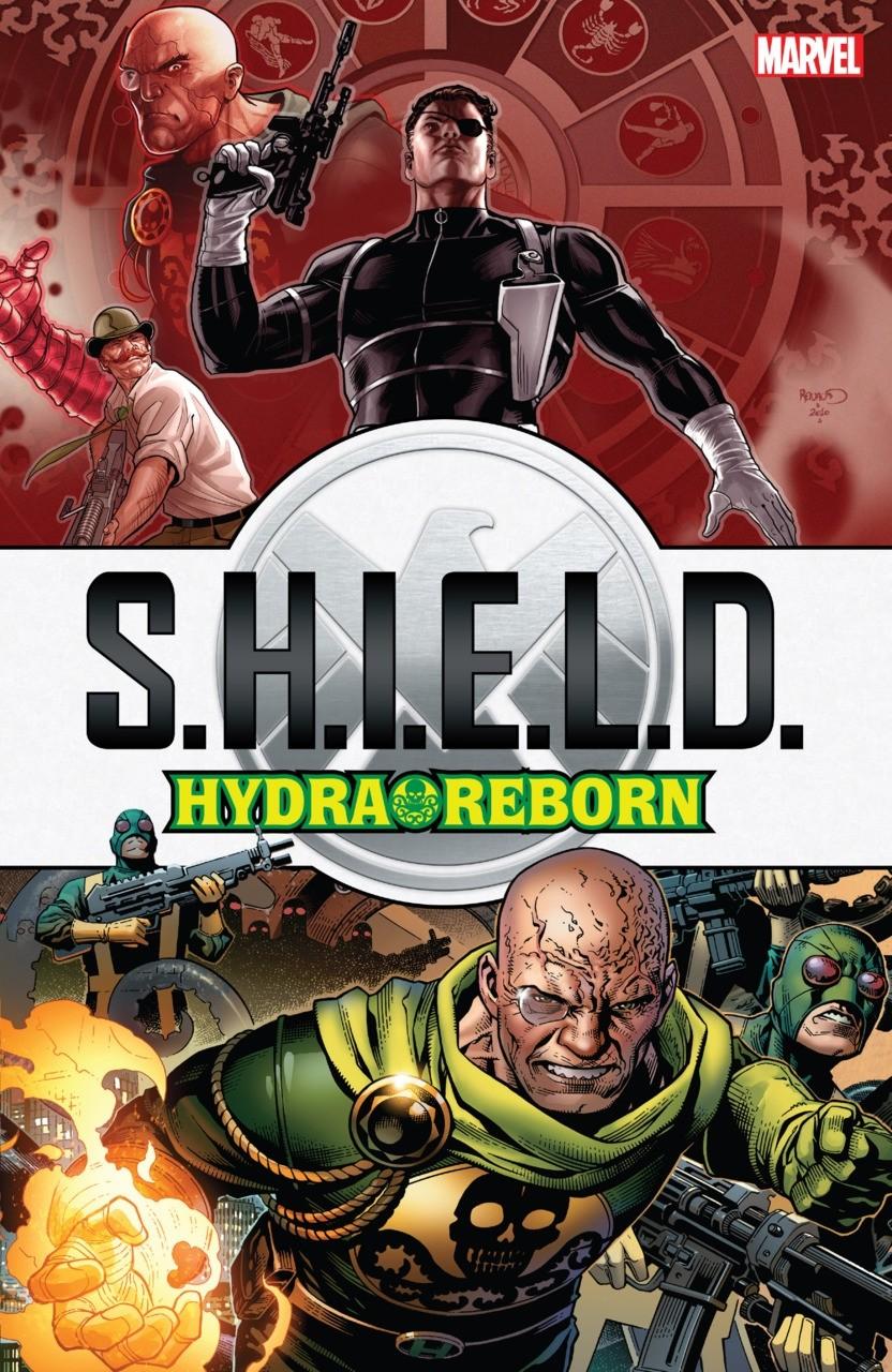 SHIELD HYDRA REBORN GRAPHIC NOVEL
