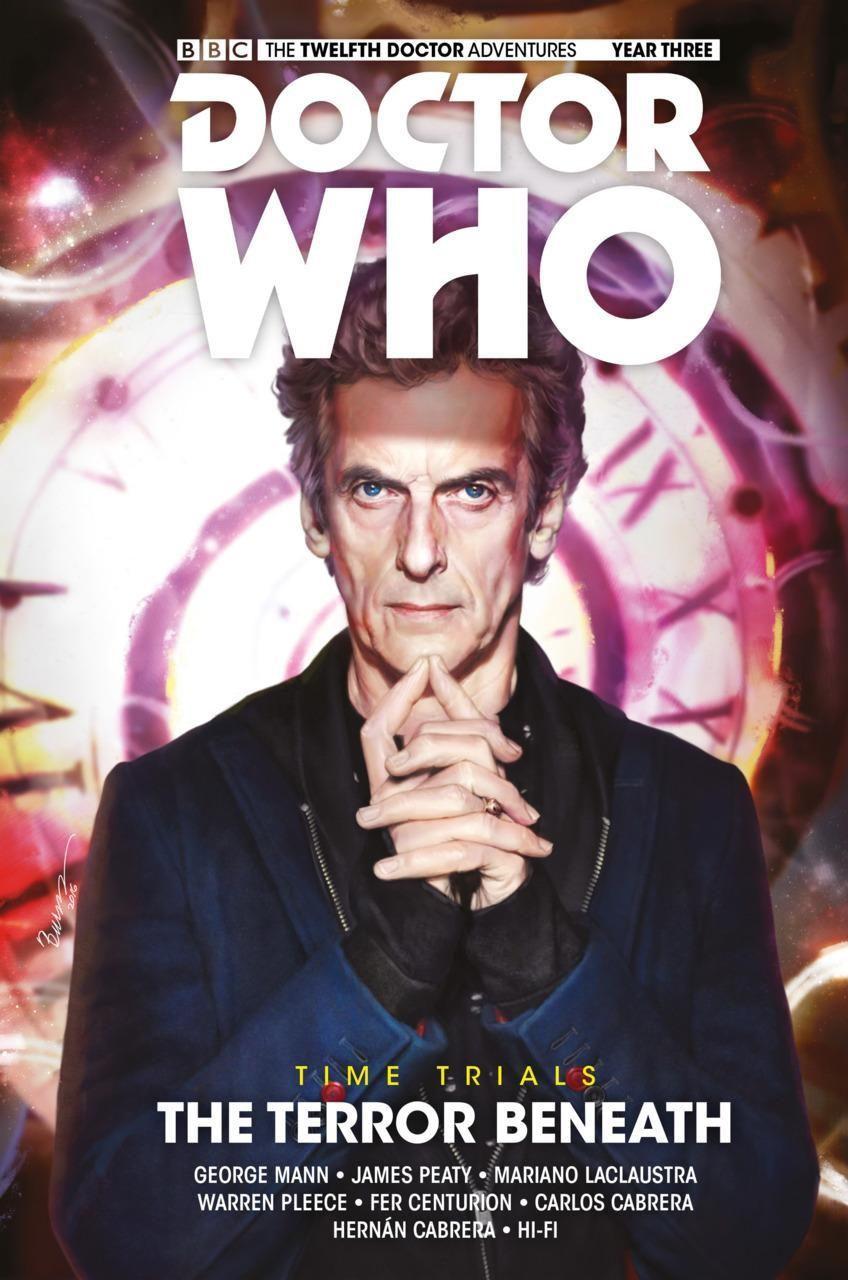 DOCTOR WHO 12TH DOCTOR VOLUME 7 TERROR BENEATH HARDCOVER