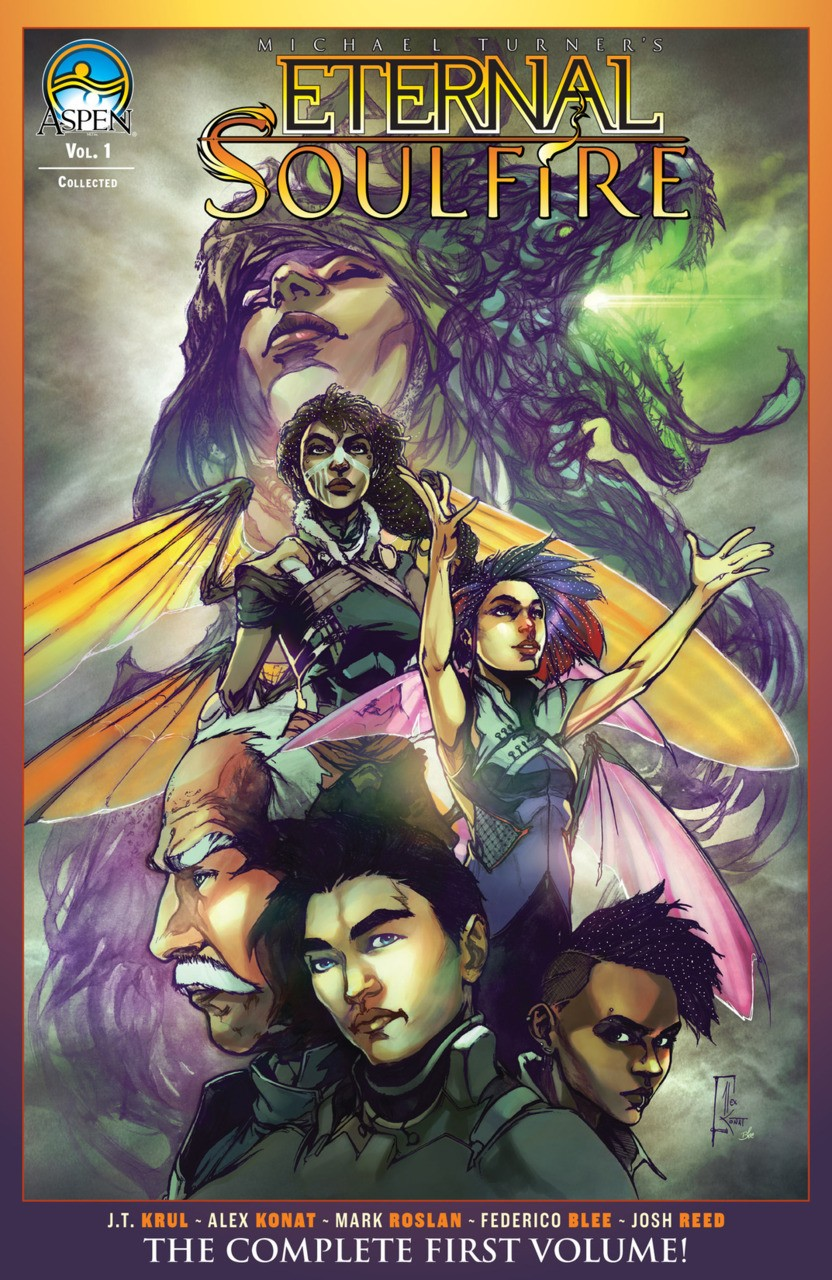 ETERNAL SOULFIRE VOLUME 1 GRAPHIC NOVEL