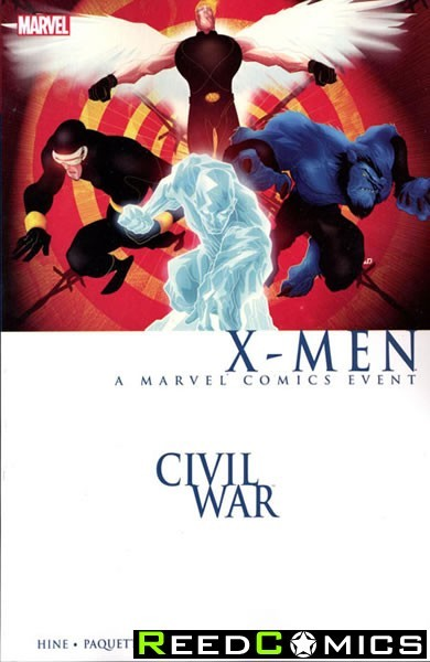 Civil War X-Men * New Printing * Graphic Novel