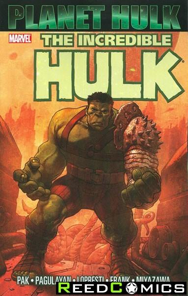 Hulk Planet Hulk Graphic Novel