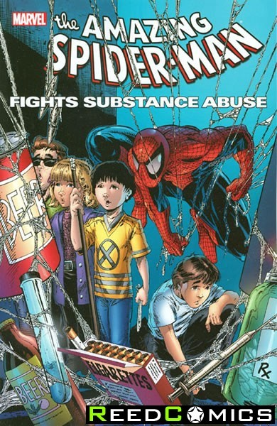 Spiderman Fights Substance Abuse Graphic Novel