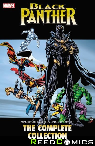Black Panther by Priest Volume 2 Complete Collection Graphic Novel