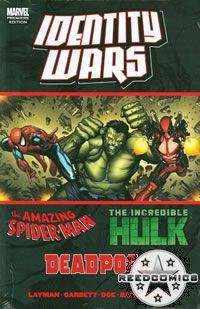 Deadpool Amazing Spiderman Hulk Identity Wars Premiere Hardcover