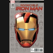 INVINCIBLE IRON MAN #593 (2016 SERIES) LEGACY HEADSHOT 1 IN 10 INCENTIVE VARIANT