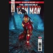 INVINCIBLE IRON MAN #593 (2016 SERIES) LEGACY