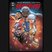 YOUNGBLOOD #1 GOLD FOIL RETAILER APPRECIATION VARIANT COVER