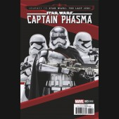 JOURNEY TO STAR WARS LAST JEDI CAPT PHASMA #3 MOVIE 1 IN 15 INCENTIVE VARIANT