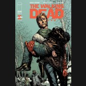 WALKING DEAD DELUXE #10 COVER A FINCH & MCCAIG