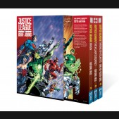 JUSTICE LEAGUE BY GEOFF JOHNS GRAPHIC NOVEL BOX SET VOLUME 1