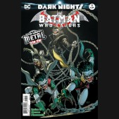 BATMAN WHO LAUGHS #1 2ND PRINTING