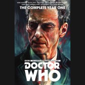 DOCTOR WHO 12TH DOCTOR COMPLETE EDITION YEAR ONE HARDCOVER