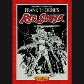 FRANK THORNE RED SONJA VOLUME 1 ARTIST EDITION HARDCOVER