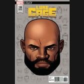 LUKE CAGE #166 (2017 SERIES) LEGACY MCKONE HEADSHOT 1 IN 10 INCENTIVE VARIANT