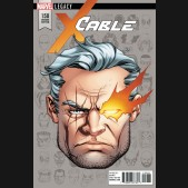 CABLE #150 (2017 SERIES) LEGACY MCKONE HEADSHOT 1 IN 10 INCENTIVE VARIANT