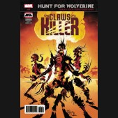 HUNT FOR WOLVERINE CLAWS OF KILLER #4