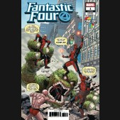 FANTASTIC FOUR #1 (2018 SERIES) SLINEY COMIC CON AFRICA VARIANT