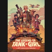 THE LEGEND OF TANK GIRL HARDCOVER