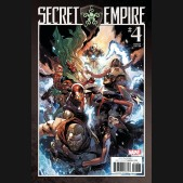 SECRET EMPIRE #4 LEINIL YU 1 IN 25 INCENTIVE VARIANT COVER