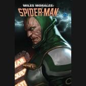 MILES MORALES SPIDER-MAN #1 DJURDJEVIC FANTASTIC FOUR VILLAINS VARIANT