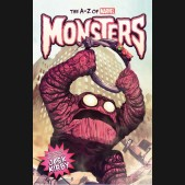 A-Z MARVEL MONSTERS HARDCOVER