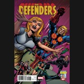 DEFENDERS #1 KIRBY 100TH 1 IN 10 INCENTIVE VARIANT COVER