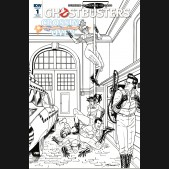 GHOSTBUSTERS CROSSING OVER #1 - 1 IN 10 INCENTIVE VARIANT