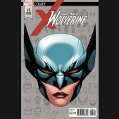 ALL NEW WOLVERINE #25 MCKONE LEGACY HEADSHOT 1 IN 10 INCENTIVE VARIANT
