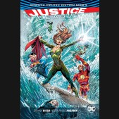 JUSTICE LEAGUE REBIRTH DELUXE COLLECTION BOOK 2 HARDCOVER