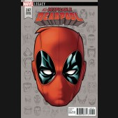 DESPICABLE DEADPOOL #287 LEGACY MCKONE HEADSHOT 1 IN 10 INCENTIVE VARIANT