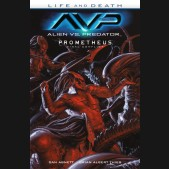 ALIEN VS PREDATOR LIFE AND DEATH GRAPHIC NOVEL