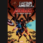 CAPTAIN AMERICA AND THE AVENGERS COMPLETE COLLECTION GRAPHIC NOVEL