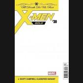 X-MEN GOLD #30 J SCOTT CAMPBELL CLASSIFIED VARIANT