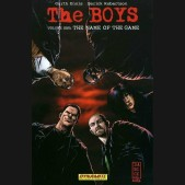 THE BOYS VOLUME 1 THE NAME OF THE GAME GRAPHIC NOVEL SIGNED EDITION