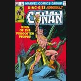 CONAN THE BARBARIAN THE ORIGINAL MARVEL YEARS OMNIBUS VOLUME 5 DM VARIANT HARDCOVER
