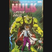 INCREDIBLE HULK BY PETER DAVID OMNIBUS VOLUME 2 KEOWN ANNIVERSARY DM VARIANT HARDCOVER