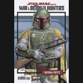STAR WARS WAR OF THE BOUNTY HUNTERS #1 TRADING CARD 1 IN 25 INCENTIVE VARIANT