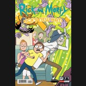 RICK AND MORTY RICKS NEW HAT #1 COVER B